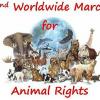 Tierschutzdemo anläßlich des Welttierschutztages in Luxemburg