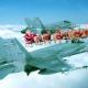 NORAD Luftüberwachung sichtet dicken Mann mit 9 Rentieren im arktischen Luftraum