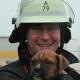 Tiertransportdrama auf Autobahn: Feuerwehr rettet 113 Hundewelpen