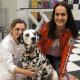 Maggie Entenfellner & Dalmatiner-Dame Emma testen Kur & Wellness für 4 Pfoten