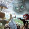 Grinsekatze in 3D: Tim Burton´s Alice im Wunderland
