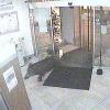 Wildschwein stürmt in Bankfiliale
