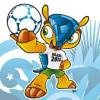 Ein Gürteltier für Brasilien: Offizielles WM-Maskottchen vorgestellt