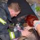 Dachstuhlbrand: Hund durch Einsatzkräfte wiederbelebt