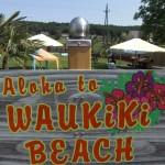 Waukiki Beach Hundestrand