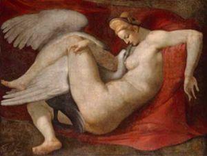 Michelangelo: Leda mit dem Schwan