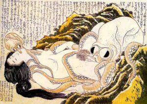 Katsushika Hokusai: Der Traum der Fischersfrau