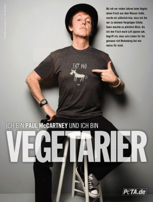 Sir Paul McCartney - Foto: PETA