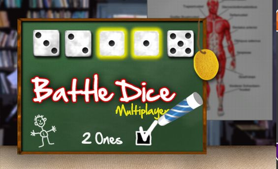 BATTLE DICE @ FUNWINGAMES - Free Online Games - Gratis Photoplay Skillgames